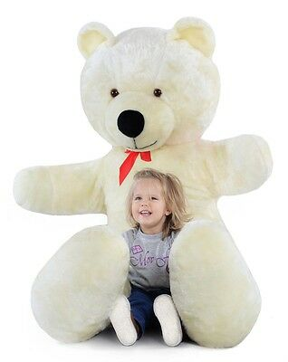 Giant large big huge white teddy bear 205cm