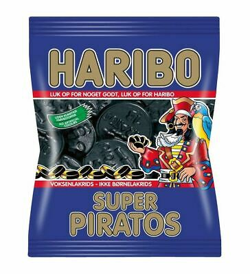 HARIBO SUPER PIRATOS DÄNISCHES LAKRITZ 360g