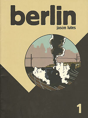 BERLIN 1 - Jason Lutes (1996, First Edition)
