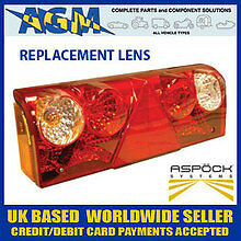 ASPOCK Europoint 2 Rear Lamp Replacement Lens Assembly