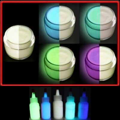 GLOW in the DARK  5 COLOR PAINT SET