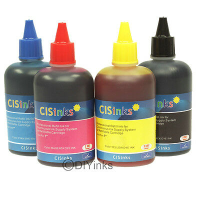Compatible Refill Ink Bottle Set for Epson Workforce 40 600 610 615 NX510 NX515