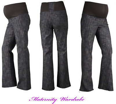 MATERNITY CLOTHING JEANS  OVER BUMP  12,14,16,18, 20, 22, 24  Bootcut