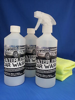 Waterless Car Wash  Kit - Amazing Offer Take A Look