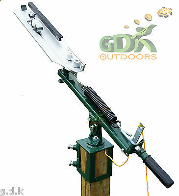 Gdk Full Cock, Post Mount Clay Pigeon Trap, Clay Target Thrower, Pm100