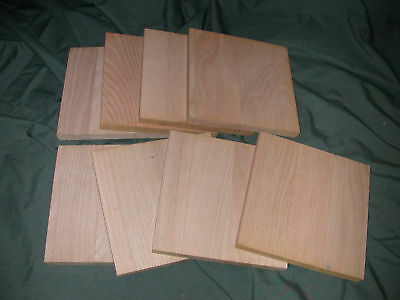 "12 Baltic Birch Plywood Woodcut Painting Encaustic Panels Wood  6/"" X 6/"""