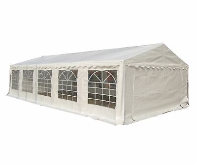 FoxHunter Outdoor 5m x 10m Heavy Duty Wedding Party Tent Marquee Marquees White