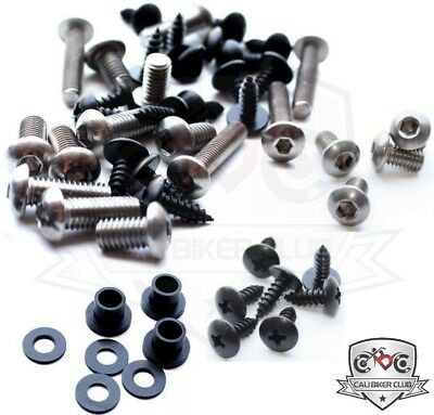 Fairing Bolt Kit Body Screws Washers Stainless for CBR929RR Honda 2000-2001