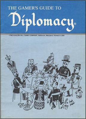 Avalon Hill Gamers Guide to Diplomacy PDF Resource CD