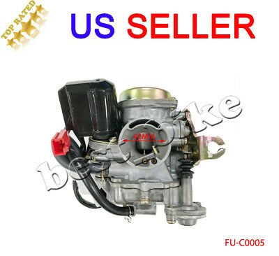 50CC 50 cc  CARBURETOR CARB ROKETA JCL gas filter 139QMB engine moped SUNL GY6