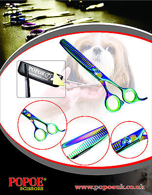 Professional Dog Grooming Scissors Thinners Titanium