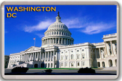Washington Dc Fridge Magnet Souvenir Imán Nevera