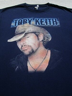 TOBY KEITH North American tour LARGE concert T-SHIRT