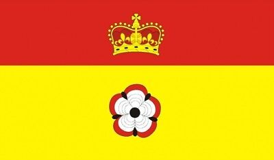 HAMPSHIRE COUNTY FLAG 5X3 Winchester Portsmouth ENGLAND
