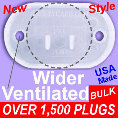 Electrical Outlet Safety Plugs Caps Baby BULK electric