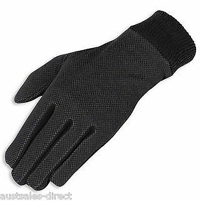 Mens Windproof Motorcycle Glove Liners - Winter Leather Gloves Inners Finn Moto