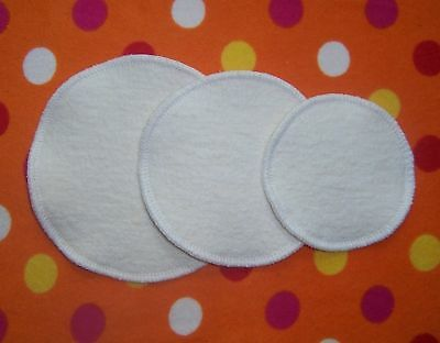 Organic Hemp Fleece Nursing Breastfeeding Pads Night Heavy Leak Extra Protection