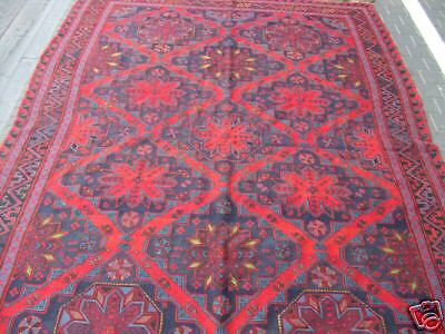 Original old Caucasian sumak carpet 1950-1960
