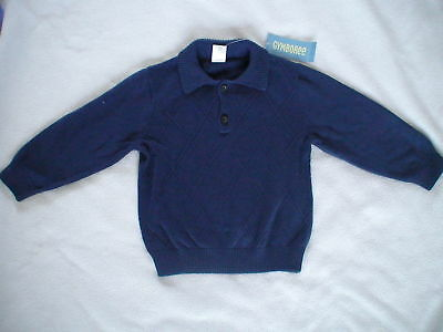 Nwt Gymboree Holiday Trimmings Navy Quilted Sweater 2T