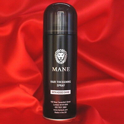 MANE Hair Thickening Spray - a thicker, fuller looking head of hair in seconds