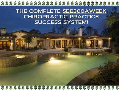SEE300AWEEK CHIROPRACTIC COACHING - ENTIRE CATALOG - NOW 42 CD's & DVD's!