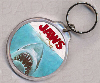 JAWS round keyring - CLASSIC!