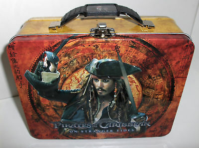 Pirates Of The Caribbean-On Stranger Tides`Metal Lunchbox->Free To US