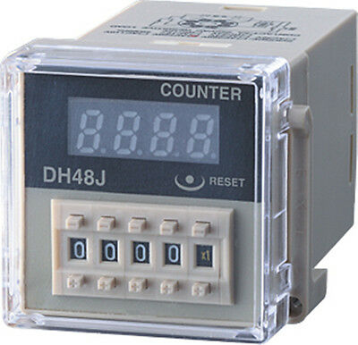 110VAC  30 CPS DH48J Digital Counter Relay