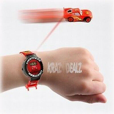 Disney Cars Lightning Mcqueen Whizz Watch