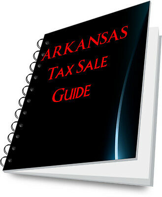 ARKANSAS Tax Deed Buying Guide For Real Estate Investor