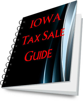 IOWA Tax Lien Certificate State Guide To Tax Sales!