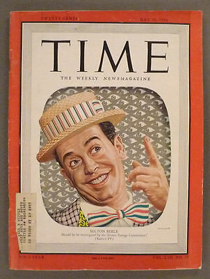 Time Magazine - May 16, 1949 -- Milton Berle cover