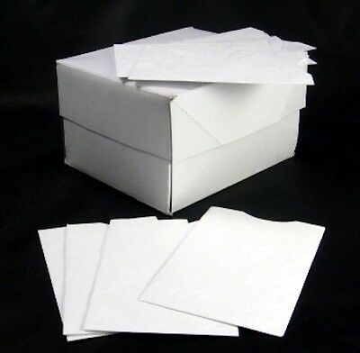 "Box of 100 Tyvek Credit Card Sleeve Envelope Sleeves, Standard 3.5"" x 2.25""."