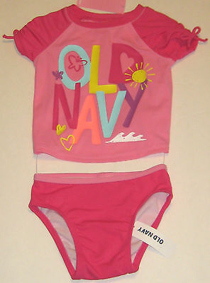 New Old Navy Girls Newborn to Toddler UPF 50 Swimwear~Swimsuit