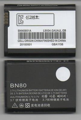 Lot 3 New Battery For Motorola Bn80 Backflip At&t