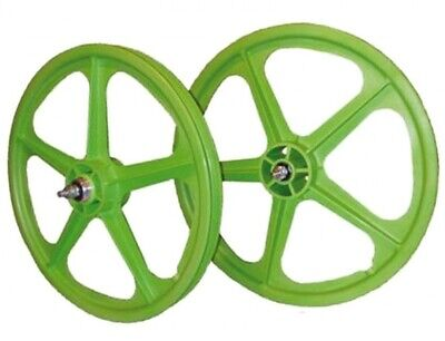 "Bicycle Wheel 20"" (50cm) Tuff II-S/B Green  By Skyway - FREE SHIPPING"