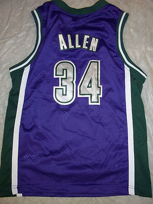 Ray Allen  34 Retro Milwaukee Bucks Nike Youth Nba Swingman Jersey Free  Shipping 762b0e64b