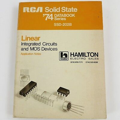 RCA 1974 Linear IC & MOS Devices SOLID STATE DATABOOK