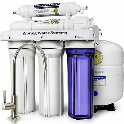 PureDrop RTW5 5 Stage Reverse Osmosis Water Filtration System W/ Pre-Filter Kit