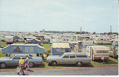 Tent City Wittman Field MHs trailers cars camping 8885