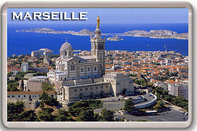 Marseille Fridge Magnet Souvenir Imán Nevera
