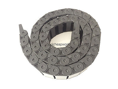 """1pcs Cable Drag Chain Wire Carrier 15*40mm 15mm x 40mm R38 1000mm 40"""" for CNC"""