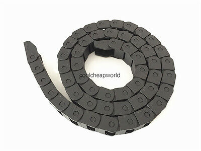 """1pcs Cable Drag Chain Wire Carrier 10*15mm 10mm x 15mm R28 1000mm 40"""" for CNC"""