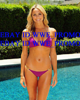Stacy Keibler SEXY PHOTO 8x10 PICTURE In HOT PINK Bikini #1HKE