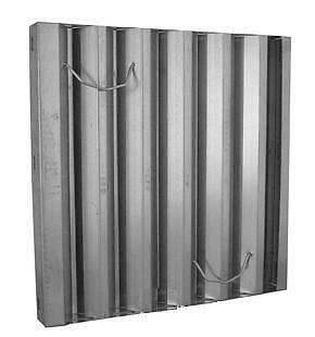 "Hood Filter 25"" x 20"" Frameless Galvanized Flame Gard 452520 31350"