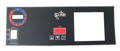 Front Overlay (faceplate decal) for Sandwich Grill Star 2M-Z2891 62304
