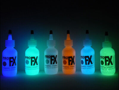 GLOW in the DARK Paint, Acrylic, GDP, GID, Luminous Material Paint