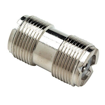 VHF Marine Radio PL258 Coaxial Cable Double Female Connector for Boats