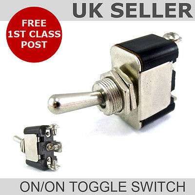 Toggle Flick Switch On/On Heavy Duty *12v or 24v*