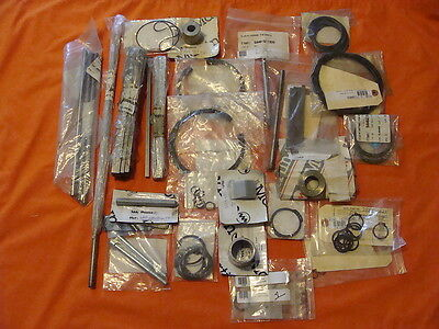 Nos & New Extra Large Lot Bobst Martin Machine Parts, Rods, Screws, Pins Lot 527